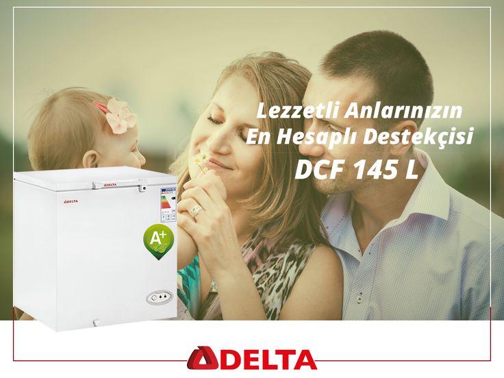 Delta DCF 145 L derin dondurucular; en güzel anlarınızın en hesaplı destekçisi. #Delta #DeltaSogutma