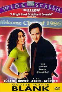 Grosse Pointe Blank (1997). I prefer my comedy on the dark side, so this is one of my favorite movies.  You get both Joan and John Cusack, that's a win in my book. Crazy. Funny. Action.