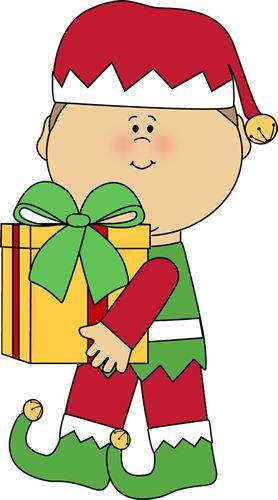 CHRISTMAS BOY CLIP ART