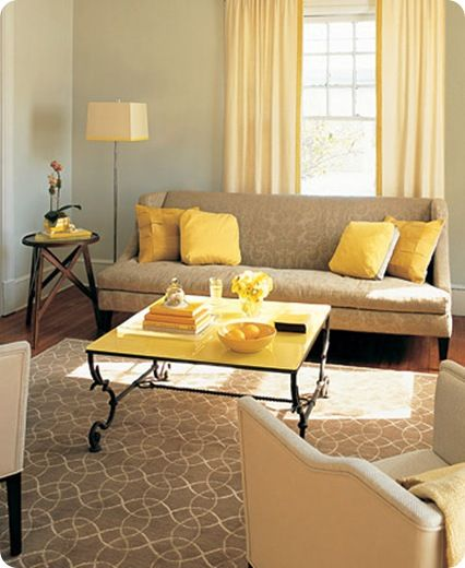 11 best living room ideas images on Pinterest | Yellow, My house and ...