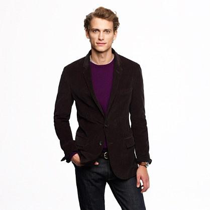 J B Ludlow Crew Ludlow sportcoat in 18-wale corduroy $138 | Sportcoats (tweed ...