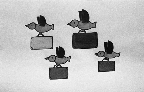 """""""Zwierzyniec"""" - program dla dzieci i młodzieży, 1975 rok (fot. TVP)"""