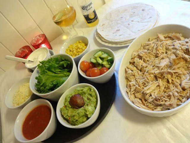 Edel's Mat & Vin : Crock-Pot Pulled kyllingtaco ♫♫