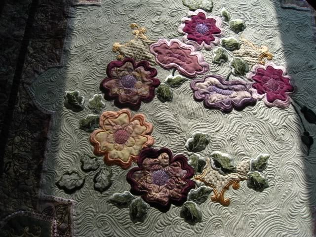 Jenny Haskins Design - The Color Purple - Made by Carolyn - Quilted by me