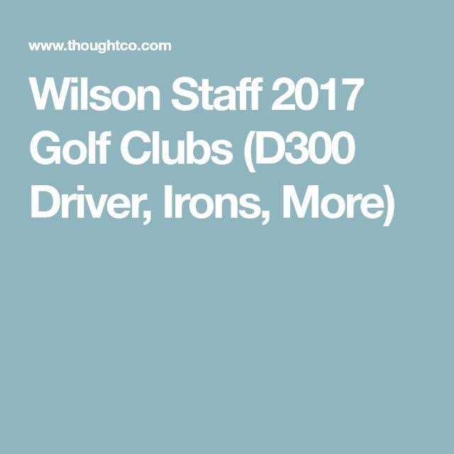 Wilson Staff 2017 Golf Clubs (D300 Driver, Irons, More)