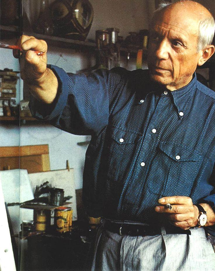 Pablo PicassoFamous Quotes, Studios Pablo, The Artists, Interesting People, Men Style, Men Fashion, Artists Workingstudio, Pablo Picasso