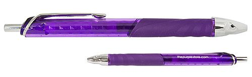 Essential purple pens from the Purple Store.