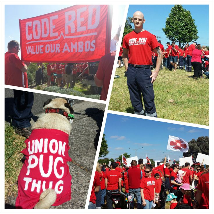 #CodeRed - Value our Ambos! Paramedics strike to defend our ambulance service.