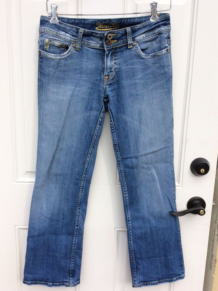 Miss Me Women's Denim Jeans Size 28 Lucy #MissMe #Relaxed