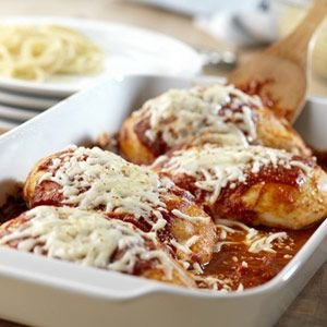 Quick Chicken Parmesan. #Chicken #Parmesan
