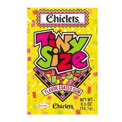 Chiclets Tiny Fruit Gum: Throwbacks, Good Ideas, 70S, Mouth