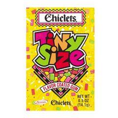 Chiclets Tiny Fruit Gum