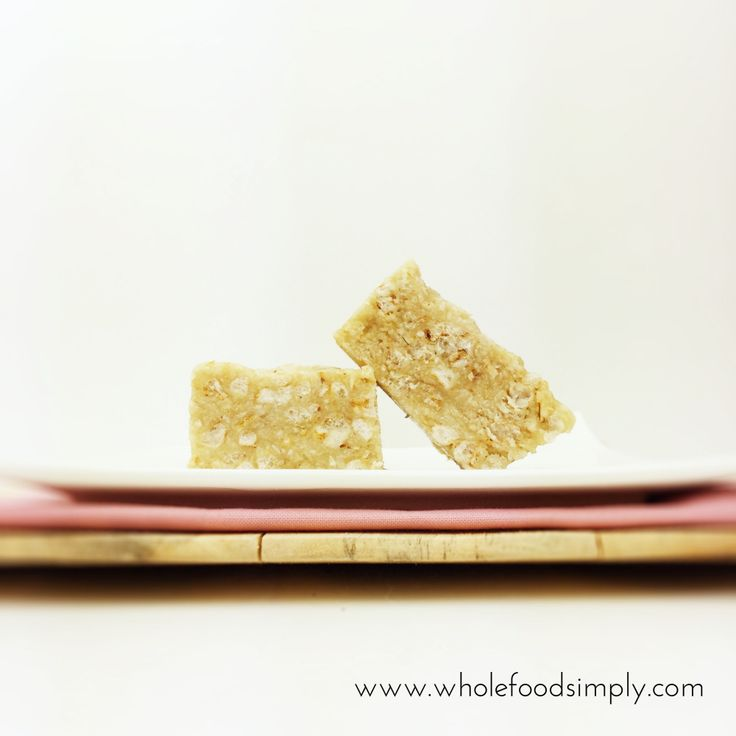 4 ingredient LCM bars