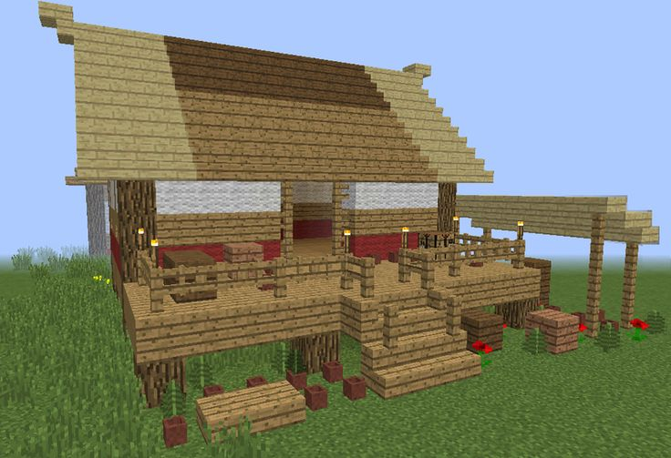 Age Of Empires Asian House 2 - GrabCraft - Your number one source for MineCraft buildings, blueprints, tips, ideas, floorplans!