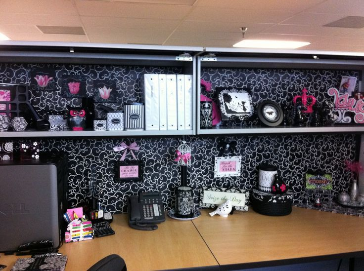 great diy ideas for an office cubicle makeover how to hang framed pictures to your - Office Cubicles