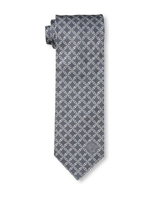 59% OFF Versace Men's Chain Links Tie, Dark Grey
