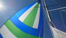 How to Rig a Cruising Spinnaker in 4 Stingy Stages