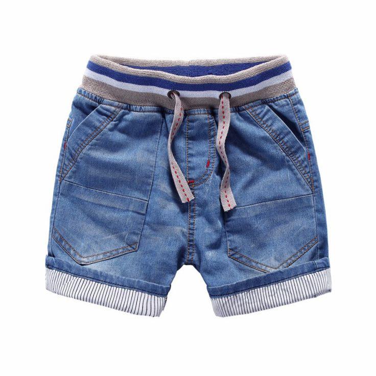 Denim Soft Summer Style Children Jean Shorts