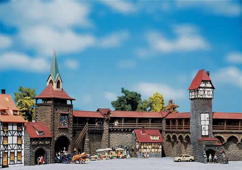 Faller miniature architecture - Rothenburg, Germany