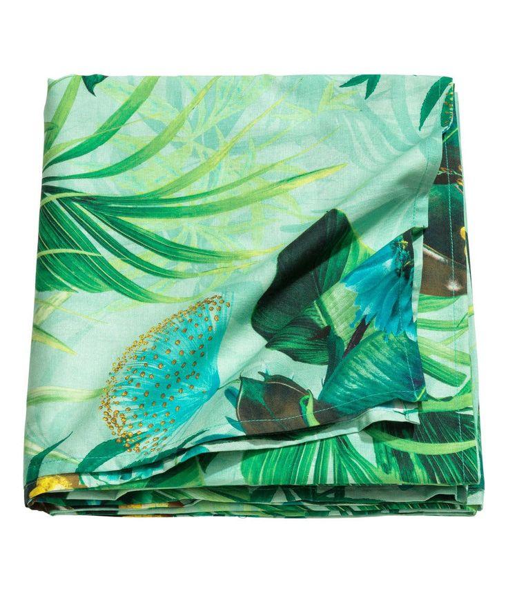Tropical tablecloth, $24.99 $9.99
