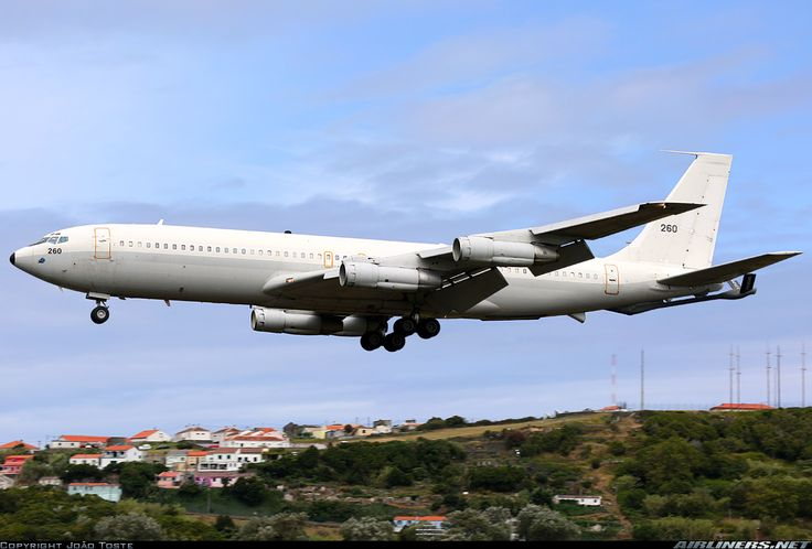 Boeing 707-3J6B(KC) Re'em, Israel Air Force, 206, cn 20716/880. Lajes, Portugal, 10.8.2015.