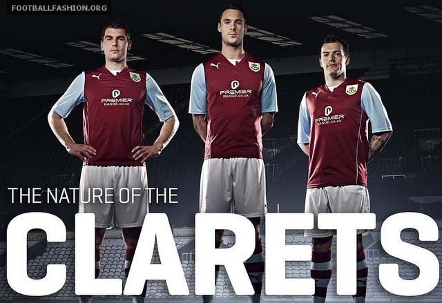 Burnley FC 2013/14 PUMA Home Kit