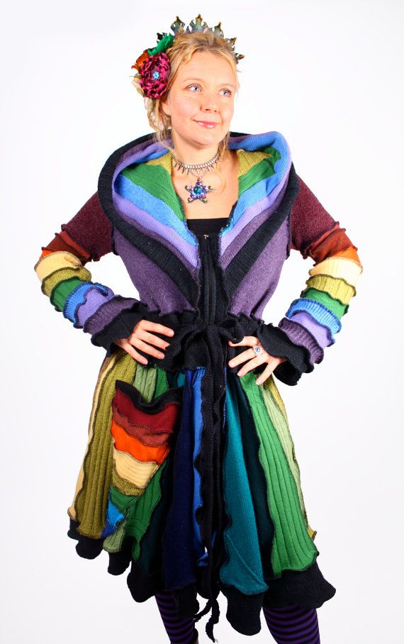 The Dowager Countess  Carousel Coat  XXXL