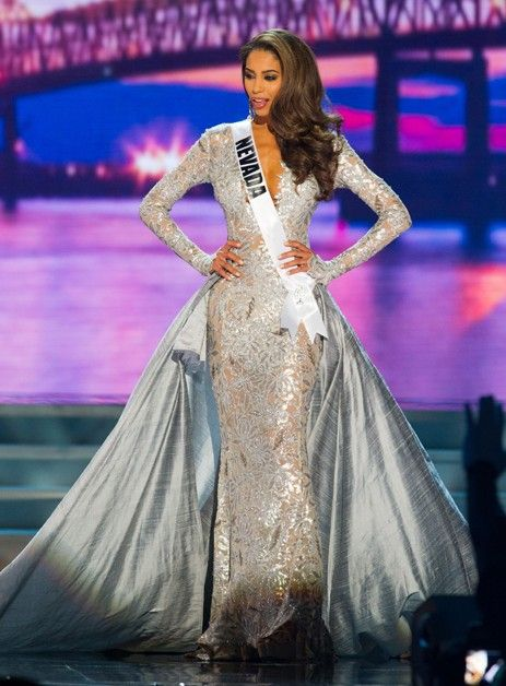miss nevada, miss usa, pageant evening gown