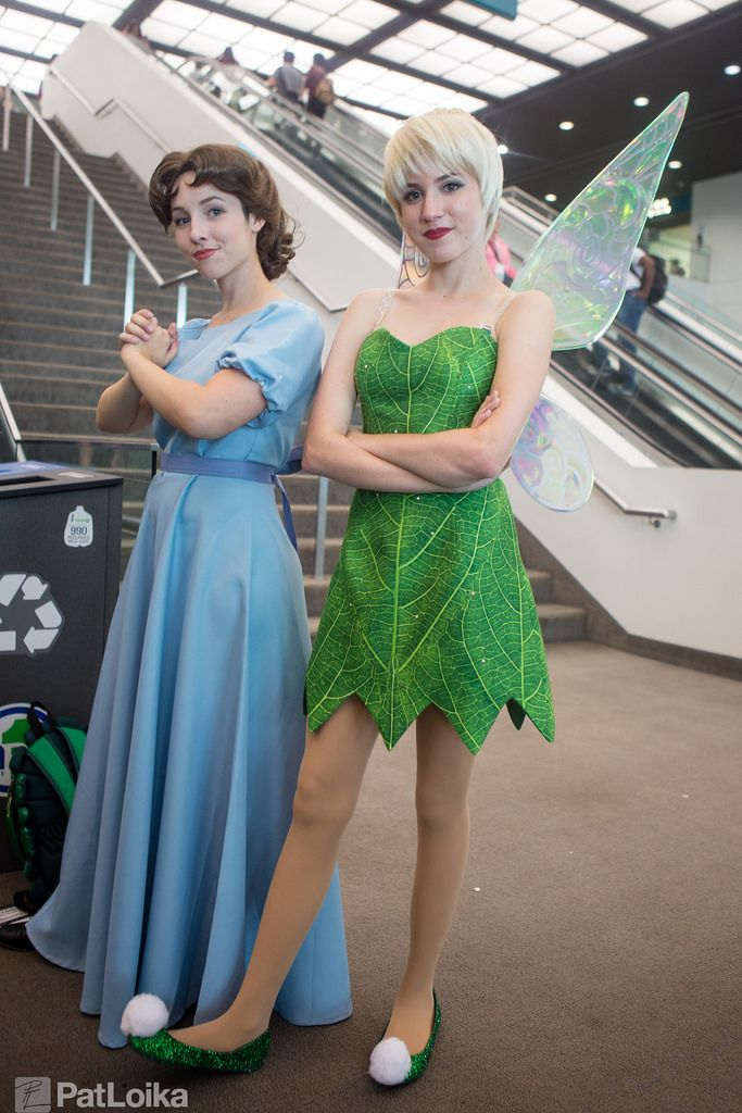 Wendy and Tinkabell cosplay