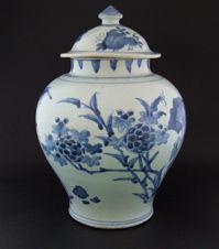 CHONGZHEN or SHUNZHI c.1640 - 1660<BR> <EM>Transitional Porcelain</em> stock n.  23912