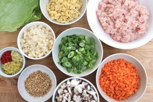 San choy bow recipe (chicken or pork)