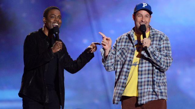 Adam Sandler and Chris Rock Reunite for Netflix Original Movie The Week Of