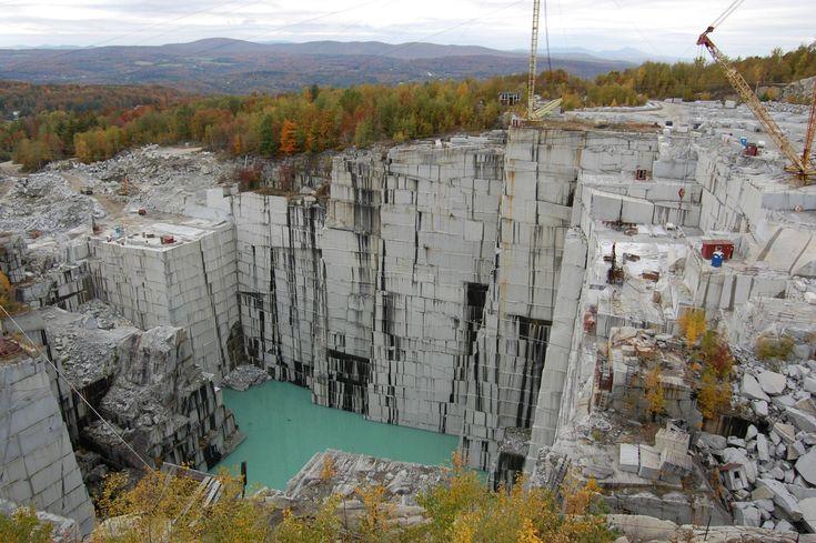 Granite Quarries Rock Of Ages Granite Quarry In Vermont