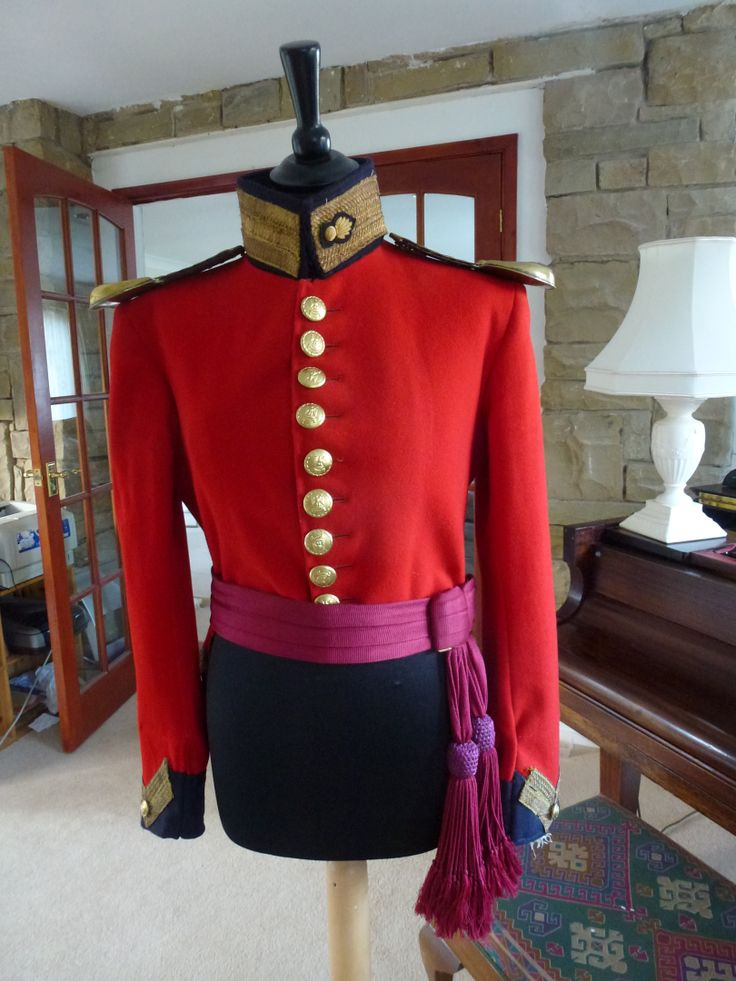 2nd Royal North British Dragoons 1854 Crimean war uniform ( officers coatee with OR scales ) REPRODUCTION