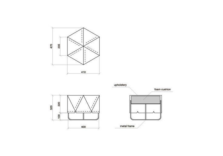 :: verzending binnen 2-3 weken::  De ROMBI is een scala aan comfortabele poefjes met een minimalistisch design. Geïnspireerd door de traditionele Noordse weven en mand maken technieken, ROMBI bevat geometrische vormen deze unieke en ongewone om stuk te geven haar moderne flair.  De brede stroken van vilt zijn interlocked en genaaid samen in een eenvoudige geometrische patroon bestond uit meerdere rhombuses. ROMBI komt in twee vormen, als een voet-ontlasting (deze aanbieding) of een…