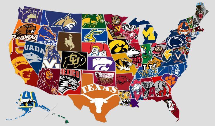 College teams/mascots Betting, Usa sports, Logo quiz