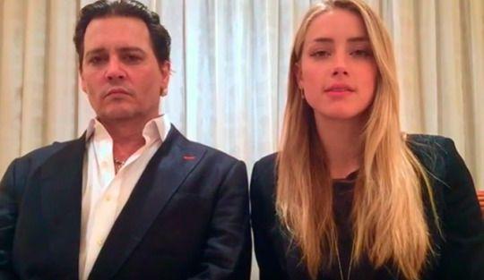 Amber Heard y Johnny Depp, obligados a pedir disculpas a Australia con un video de lo más incómodo