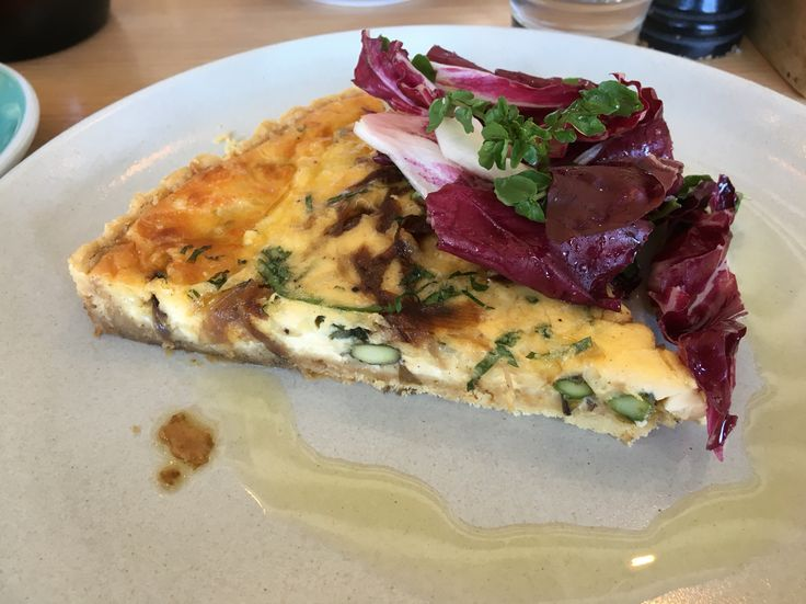 Caciacavalo Tart with Asparagus and Caramalised Onion @Barry, Westgarth