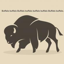 "Have you ever struggled to figure out the ""buffalo buffalo buffalo"" sentence and given up? I have, but today I decided to take the time to figure it out. Here's what it means."