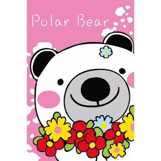 Melukis Sendiri Polar Bear - Melukis Sendiri