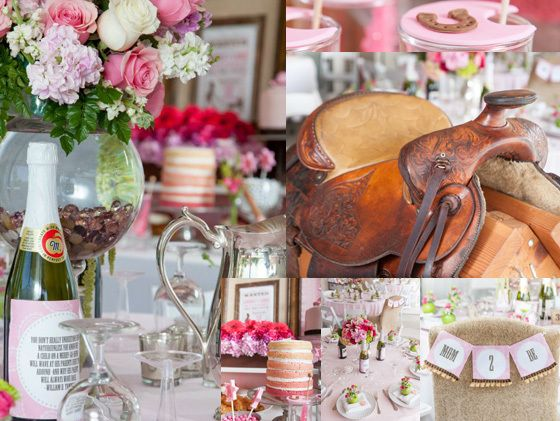 """Photo 1 of 28: Cowgirl Baby Shower / Baby Shower/Sip & See """"Cowgirl Chic Baby Shower""""   Catch My Party"""