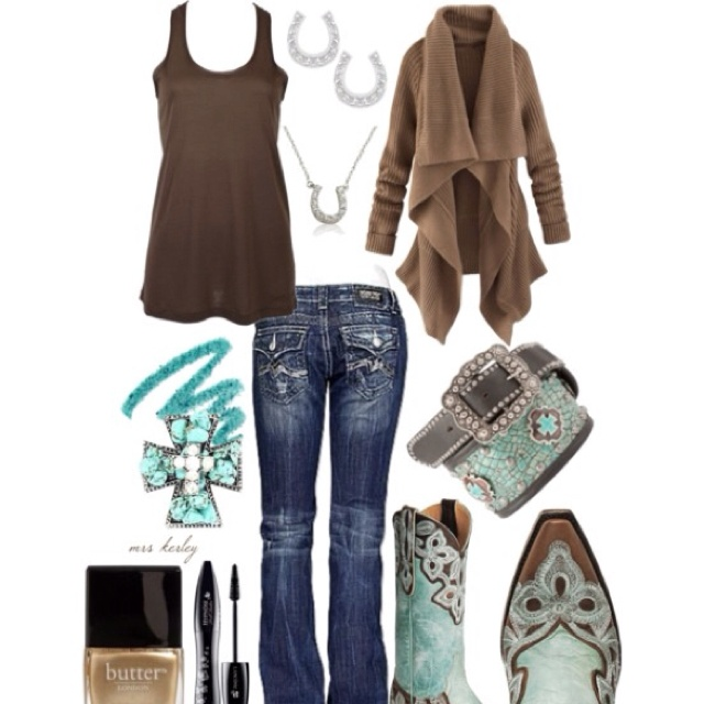 Country girl glam