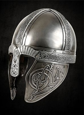 Embossed Viking Helmet
