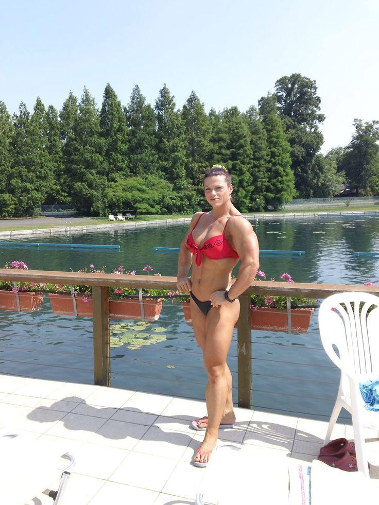 Oana Hreapca | MUSCLE GODDESSES - Thank God For Steroids | Pinterest