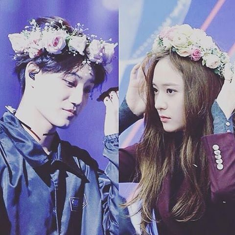 too much into the fandom. everything is just too good to be real #kaistal can't stop shipppinng just for the second/third time.