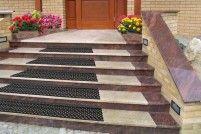 Dastech Protiskluzová schodová rohož z odolného PVC - lepící