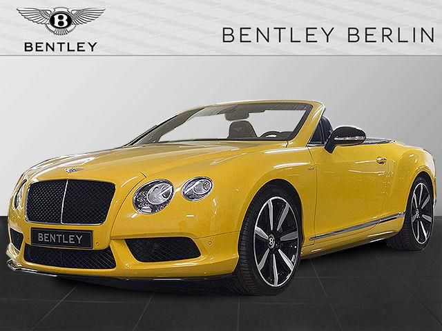 Bentley Continental GTC V8 S Mulliner - BENTLEY BERLIN - Gelb - 1
