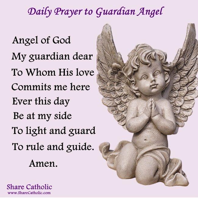Guardian Angel Solid Wood Cross ~ Now I Lay Me Down To Sleep......
