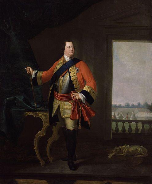 William Augustus,Duke of Cumberland  Oberbefehlshaber der pragmatischen Armee