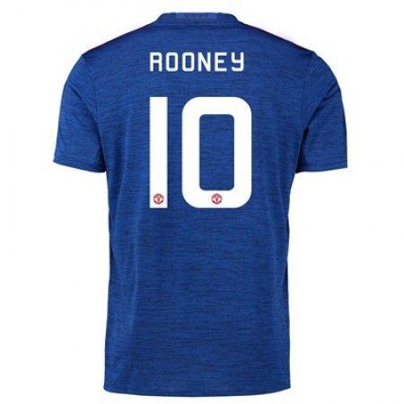 Manchester United 16-17 Wayne #Rooney 10 Udebanesæt Kort ærmer,208,58KR,shirtshopservice@gmail.com